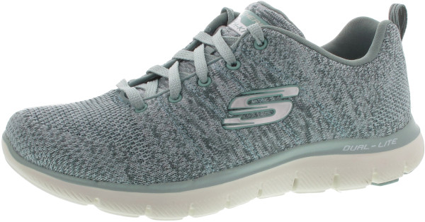 Skechers Flex Appeal 2.0 High Ener für Damen (grün / 40) ENCiPtYM