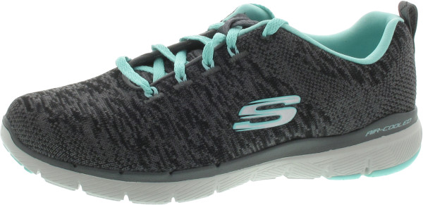 Beliebt Damen Schuhe grau kombi SKECHERS Skech Air Infinity