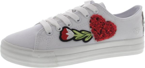 4863750f7a11c1 Tamaris Sneaker weiss  25017019.37