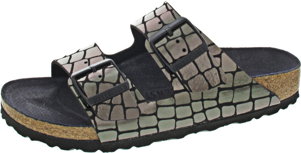 Birkenstock Arizona MF Gator Gleam bl