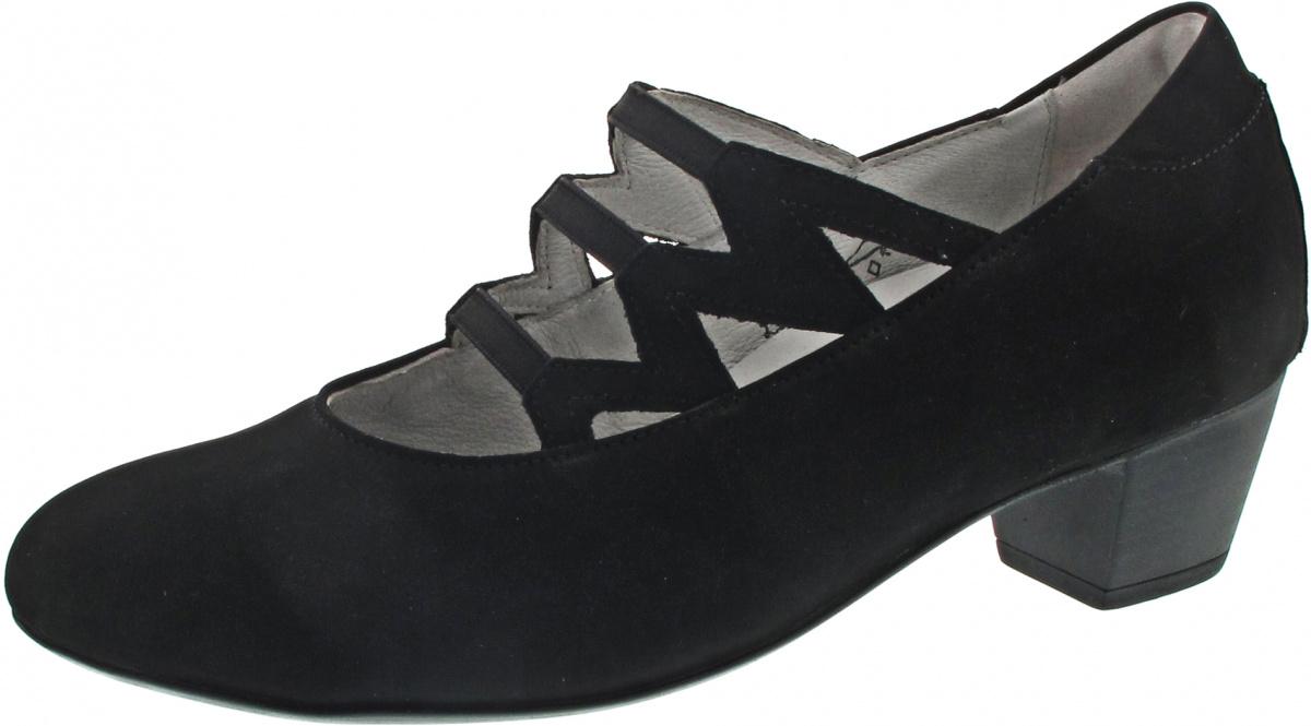 WALDLÄUFER Hilaria Komfort Leder Schuhe Pumps Gr. 37,5 UK 4