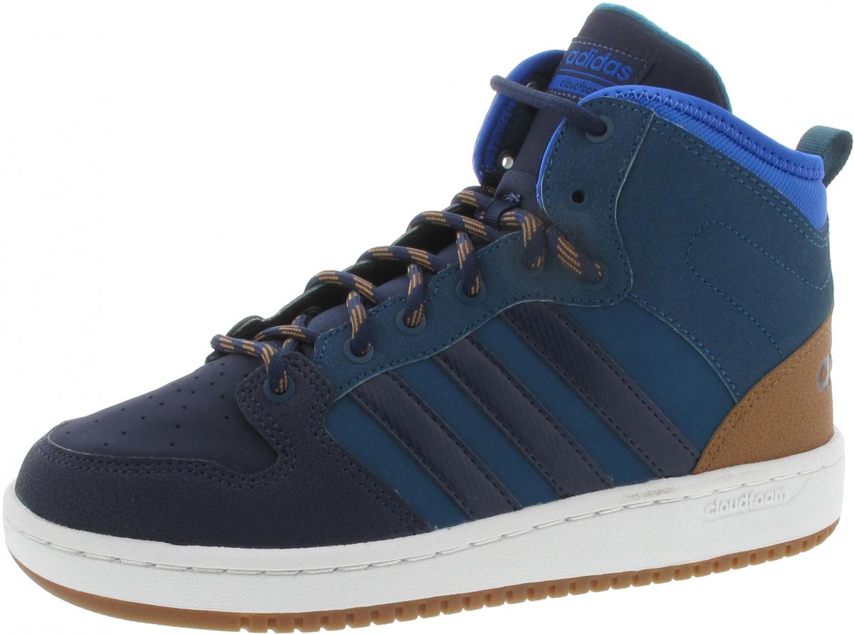Adidas VS Hoops Mid Schuh weiß   Adidas Österreich   H47j4647